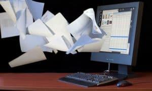 Papper Less Office