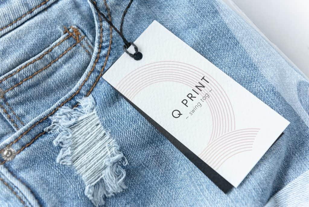 clothing tag printing