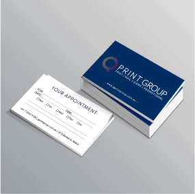 appointment card printing