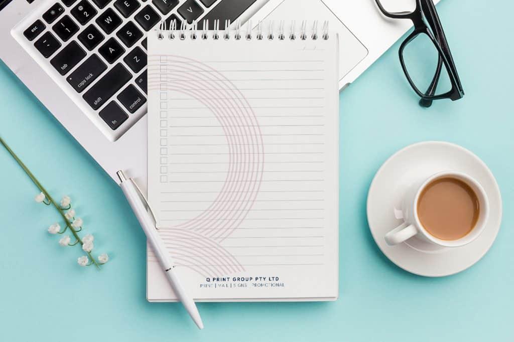 branded notepad printing