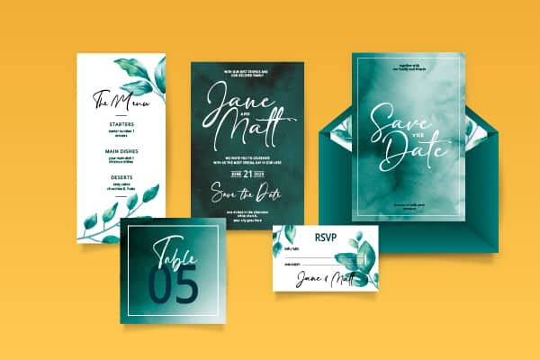 wedding printing package