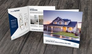 real estate property brochure printing