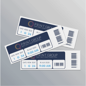 Event and Raffle Ticket Printing