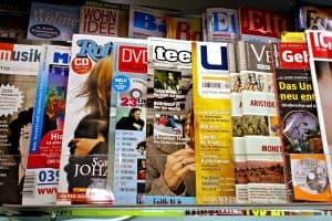 print magazine advertising