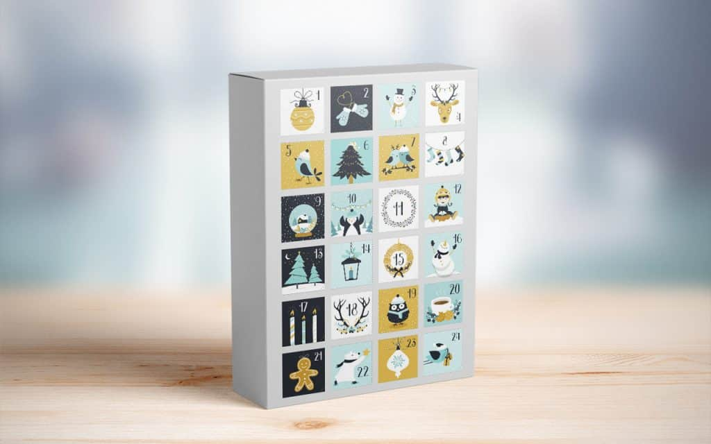 custom advent calendars