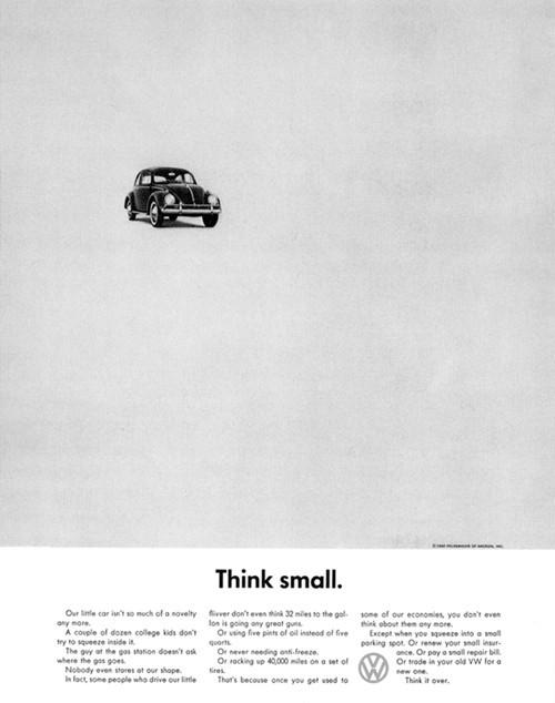 print advertisement - Volkswagen 1060
