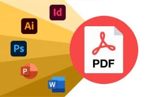 How to export to PDF