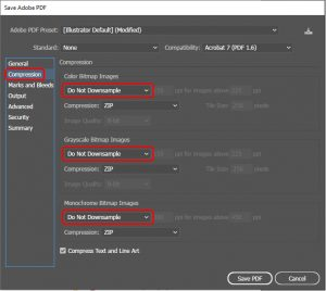 How to export to pdf in Illustrator_4