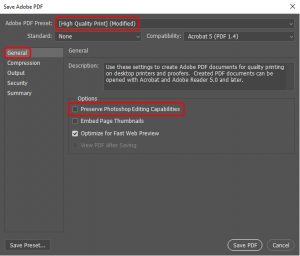 How to export to pdf in Photoshop_4
